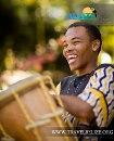Garifuna Settlement Day Drummer