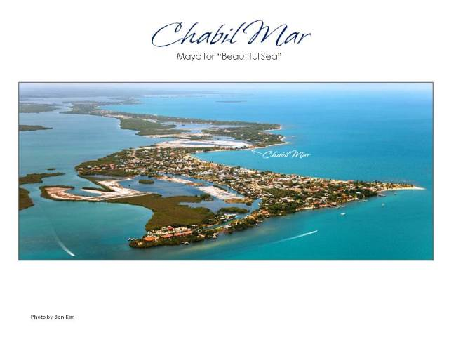 Aerial Ben Kim CMV Identified Chabil Mar Belize Resort