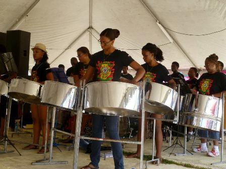 2012 Steel Drummers Chabil Mar Resort Belize