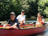 160 Heyer Chaa Creek Family Canoeing Chabil Mar Belize Resort