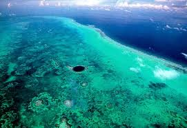 Blue Hole with Reef Chabil Mar Belize Resort