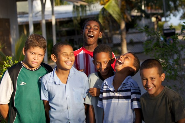 Children of Placencia Belize Chabil Mar Resort