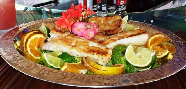 Elizabeth You Catch 650 We Cook Chabil Mar Belize Resort