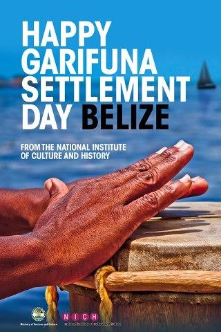 Garifuna Settlement Day Banner