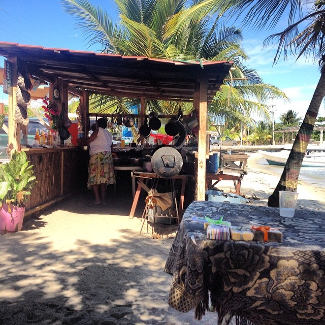 Brenda street food Chabil Mar Resort Belize