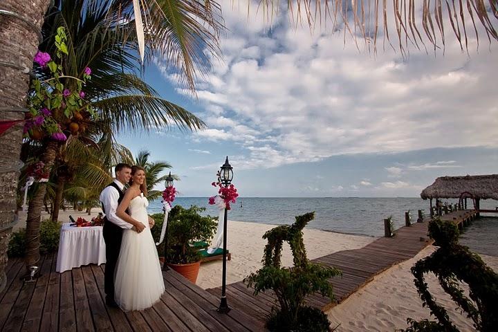 belize beach weddings