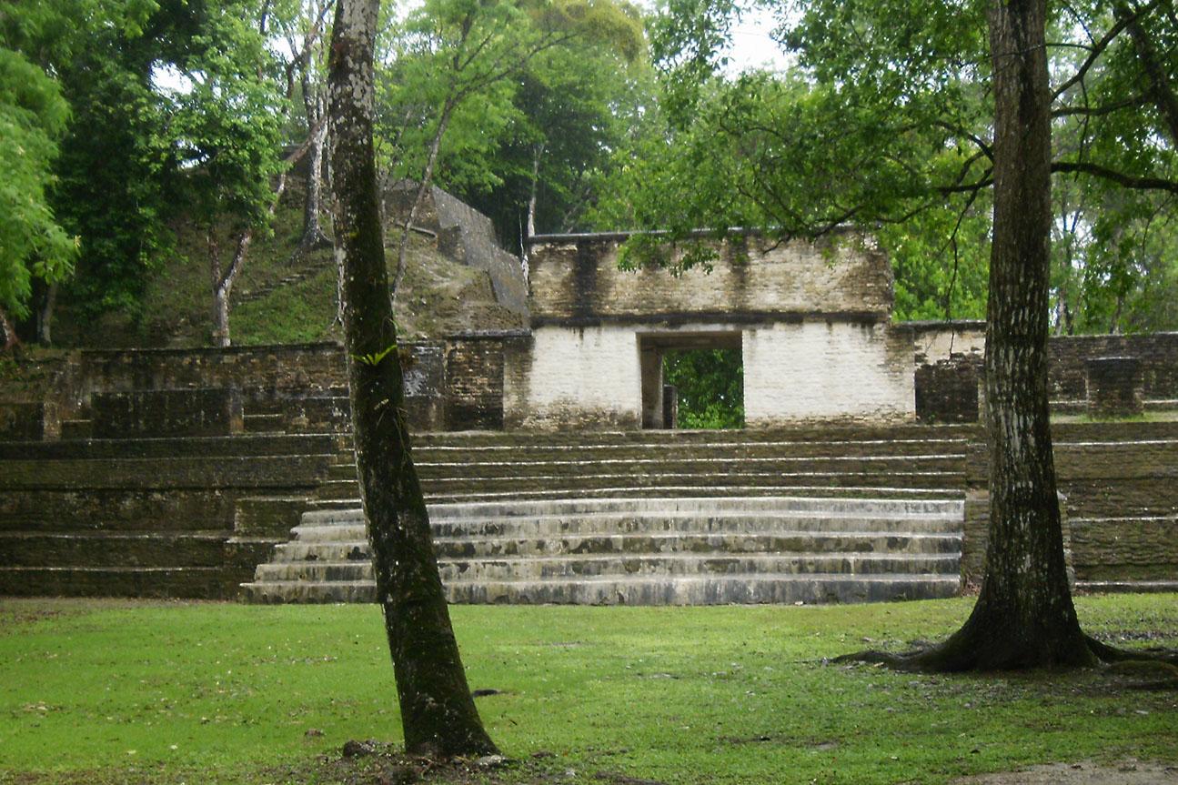 cahal-pech maya site
