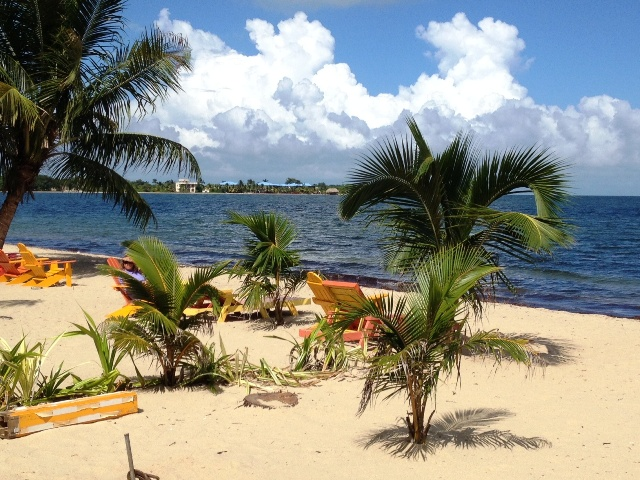 Placencia beach with Chabil Mar Resort Belize