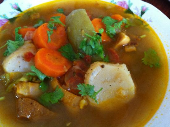 cow foot soup belize