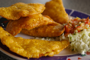 panades in belize