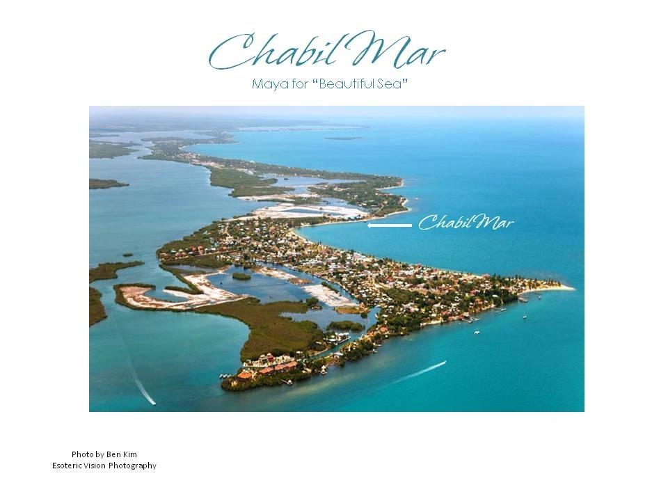 Aerial with Chabil Mar