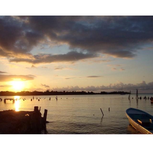 placencia belize sunrise