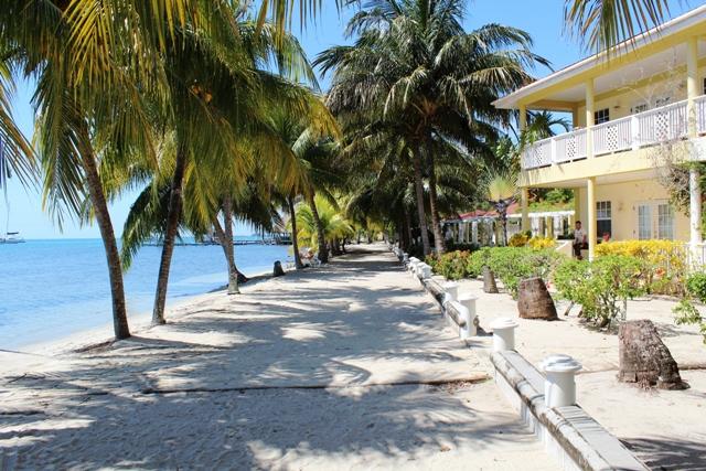 Beach Path Chabil Mar Resort Belize