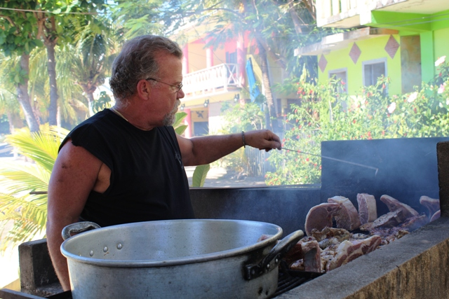 Yolis Sunday Grill Chabil Mar Resort Belize