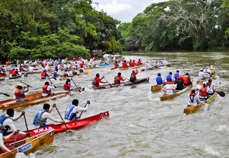 belize ruta maya canoe race