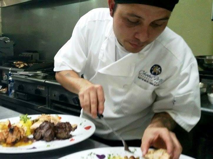 Carlos Preparing Dish Chabil Mar Resort Belize