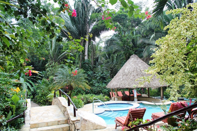 Pool and Canopy Chabil Mar Resort Belize