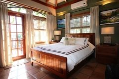 Villa Bedrooms are Individually Designed and Feature Belize Decor