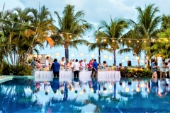 Receptions & Events - Beach-Side at Cafe Mar - Photo by Jose Luis Zapata