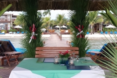 Reserved Dining on our Pier - A Marriage Proposal Request