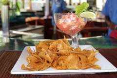 A Belize Appetizer Favorite - Ceviche - Chabil Mar Resort Belize