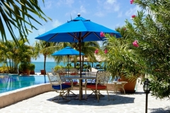 Poolside Dining - Breakfast, Lunch or Dinner - Chabil Mar Resort Belize