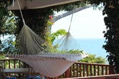 Each Villa veranda includes a Hammock for your Relaxation