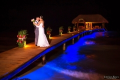Love into the Night - Chabil Mar Pier is an incredible Backdrop