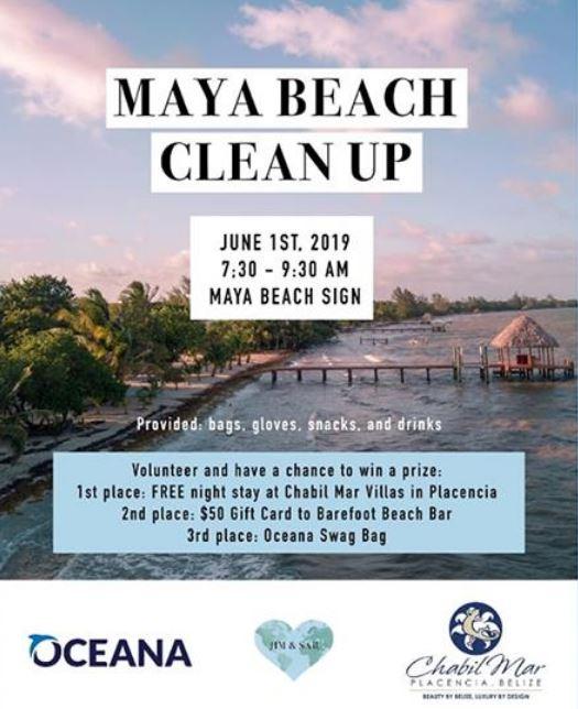 maya beach cleanup