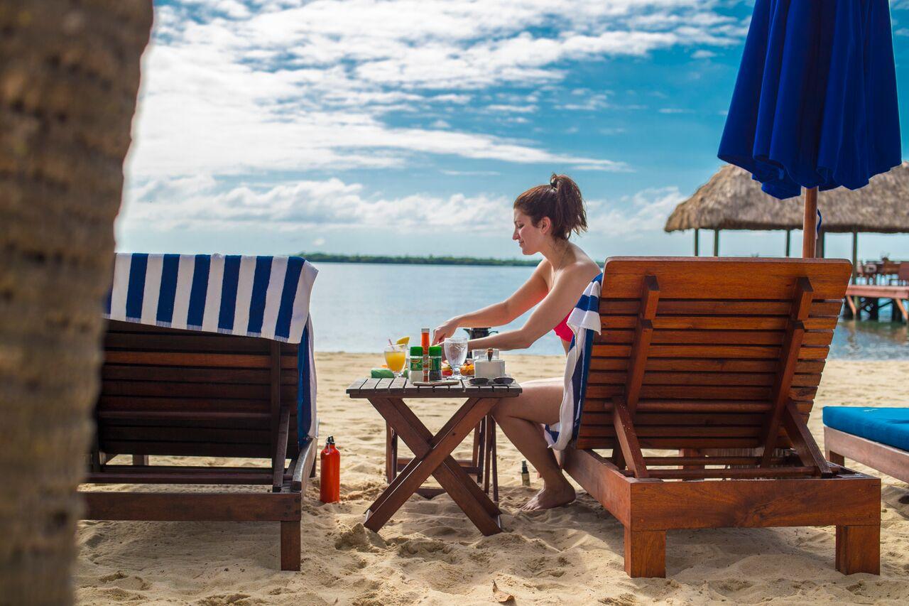 most beautiful beach destination in belize